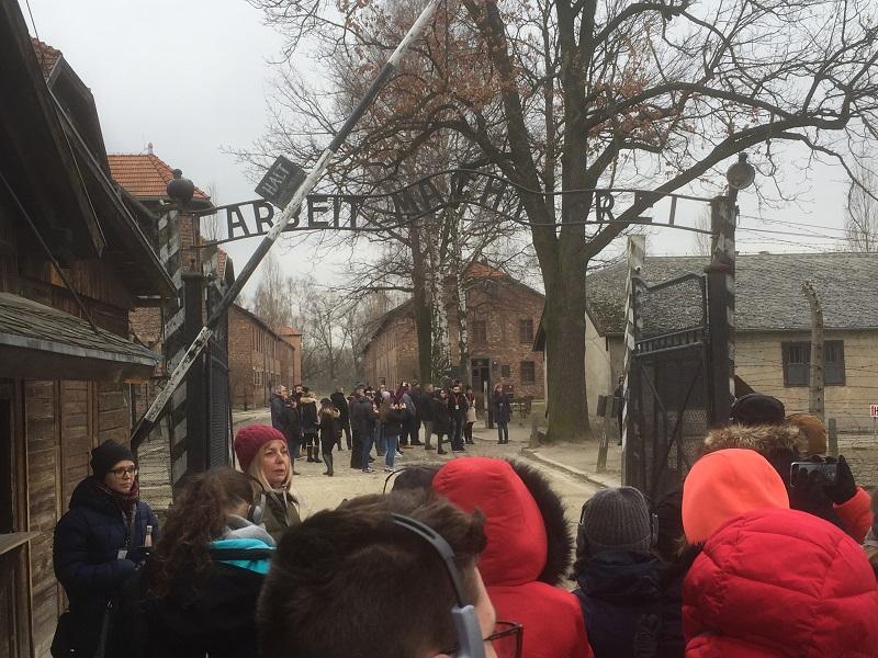 16. AA - Auschwitz - Entrée 2